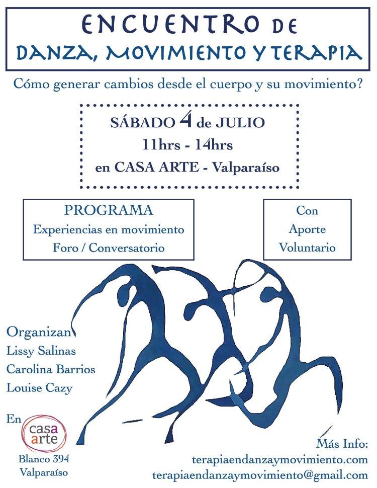 Afiche Encuentro Danza Mov y Terapia_Print