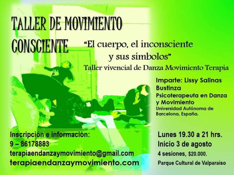 Taller de Danza Movimiento Terapia, Valparaíso